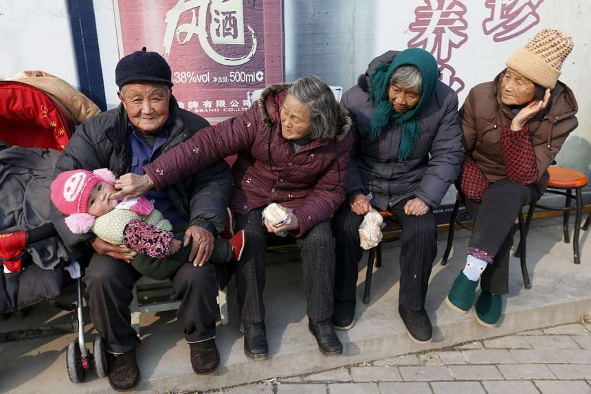 China will extend old-age insurance to its entire population, a move that may strengthen its social safety net and boost consumption.