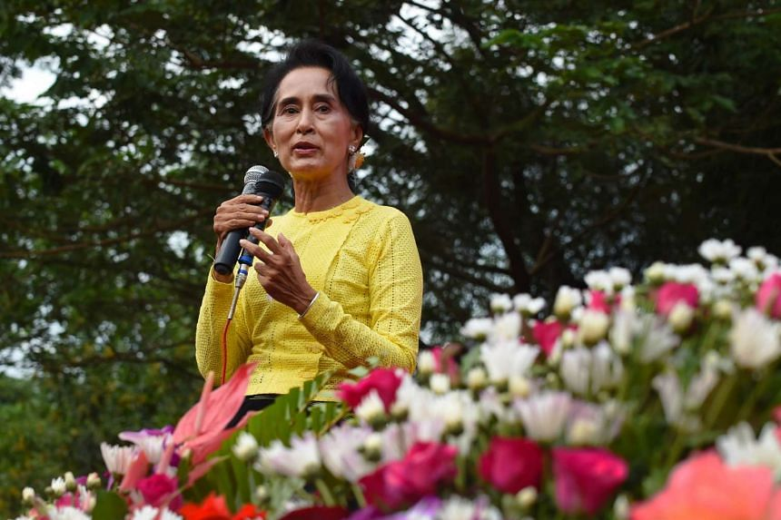 At 7Day News, one of Myanmar's best-selling newspapers, Suu Kyi and her National League for Democracy (NLD) party dominate coverage.