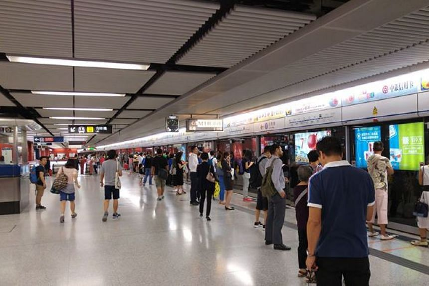 Hong Kong's Mass Transit Railway (MTR).