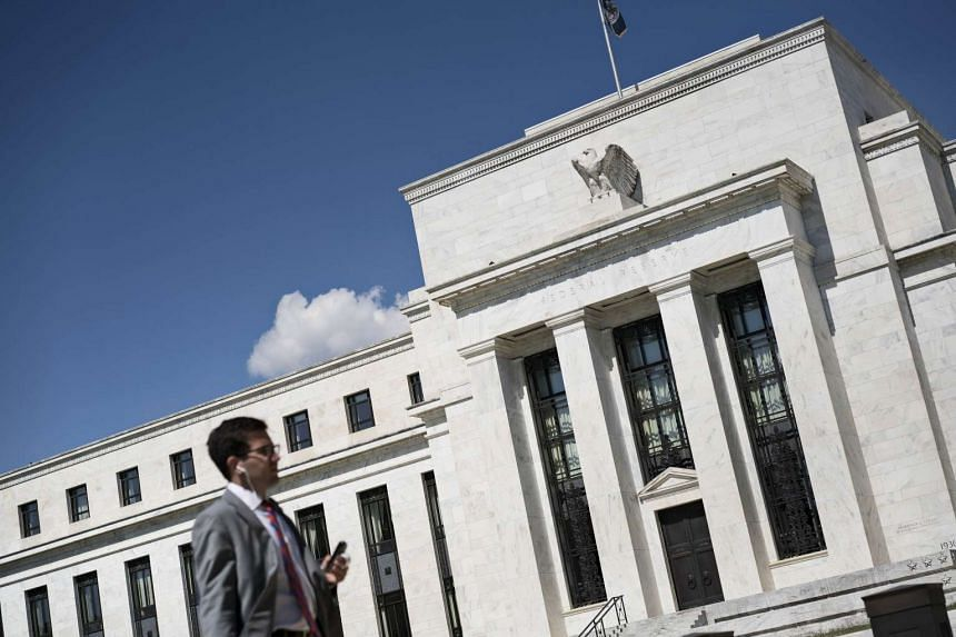 A view of the Federal Reserve on Sept 17, 2015 in Washington, DC.