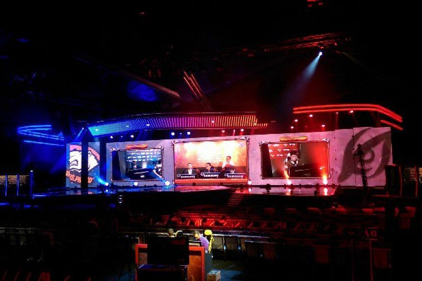 Tech reporter Lisabel Ting reports live from the Nanyang Dota 2 Championships held at the Suntec Singapore Convention & Exhibition Centre from Oct 26 to Nov 1.