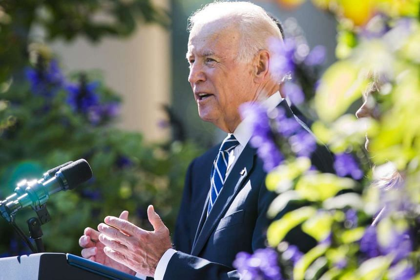 US Vice President Joe Biden announces that he will not seek the 2016 Presidential nomination in the Rose Garden of the White House in Washington, DC, USA, Oct 21, 2015.