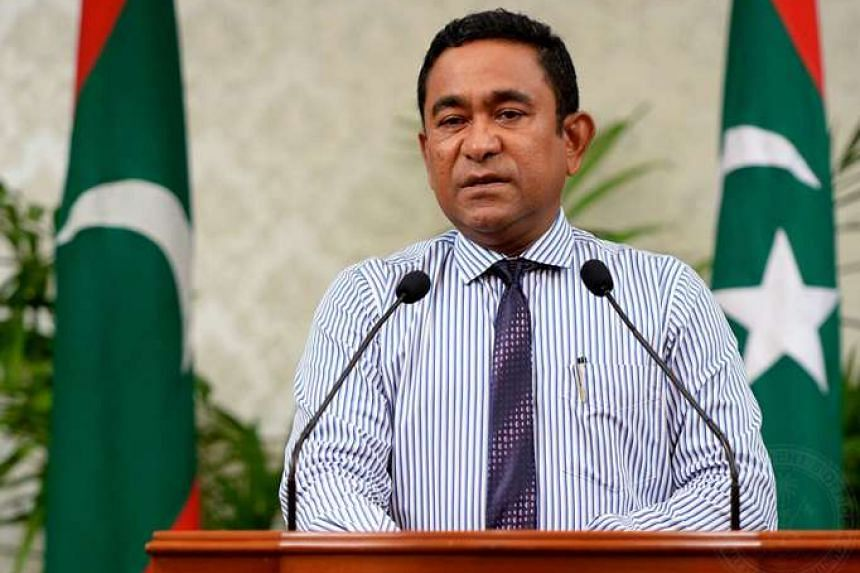 President Abdulla Yameen, 59, was unhurt in the Sept 28 blast as his presidential boat Finifenmaa approached the capital Male.