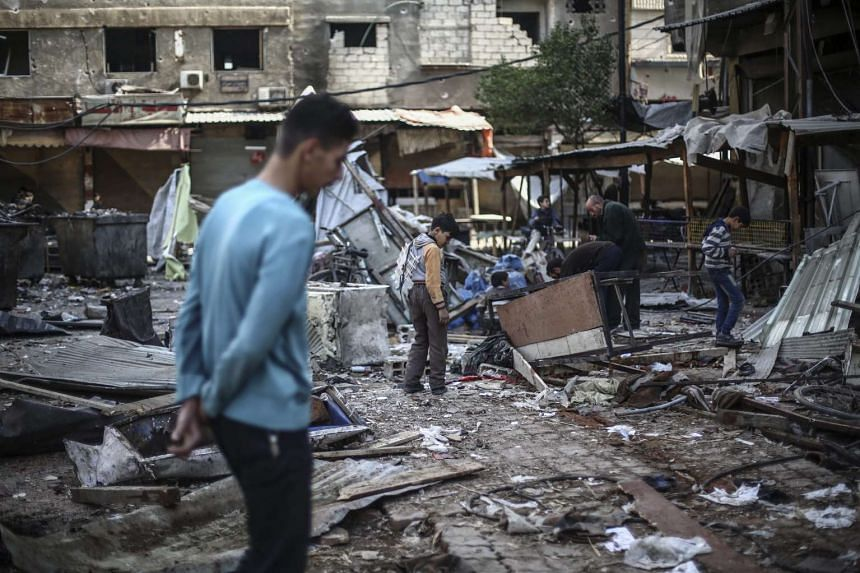 The sources said the move reflected a wider strategy of strengthening moderate rebels in Syria.