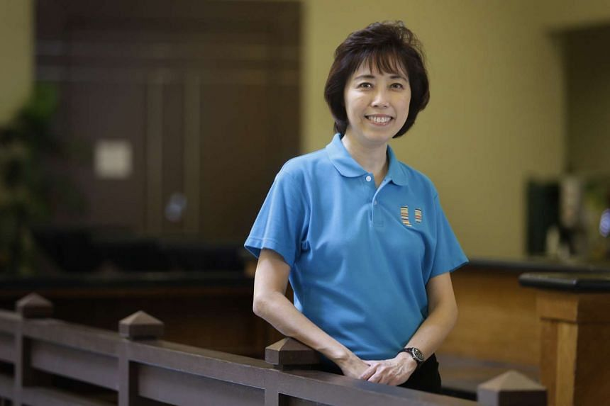 NTUC's newly elected president Mary Liew.