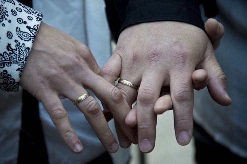 "Ireland voted 62.1 per cent in favour of allowing marriage between two people ""without distinction as to their sex"" in May, the first time anywhere that gay marriage has been legalised in a referendum."