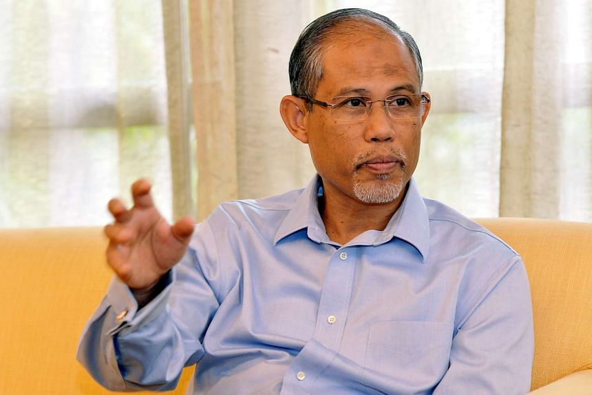 Minister for the Environment and Water Resources Masagos Zulkifli.