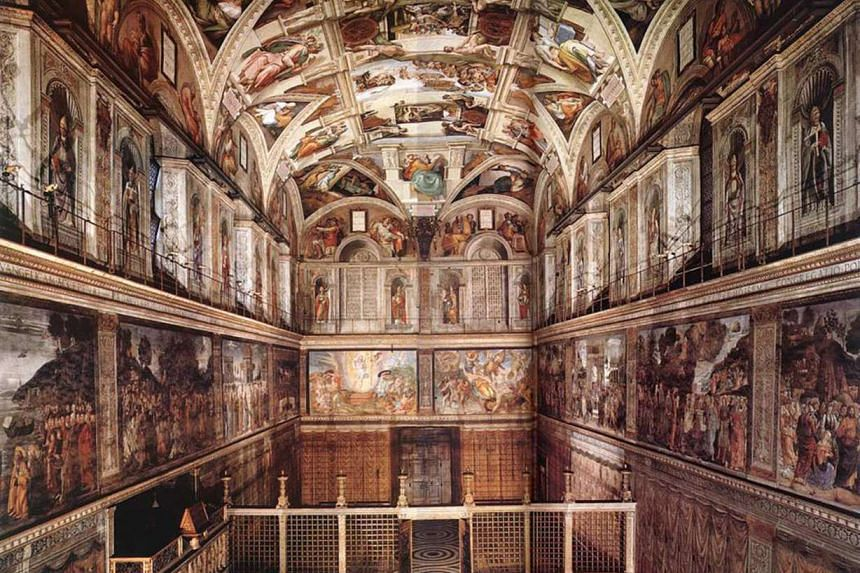 The Sistine Chapel is the best-known chapel of the Apostolic Palace, the official residence of the Pope in the Vatican City.