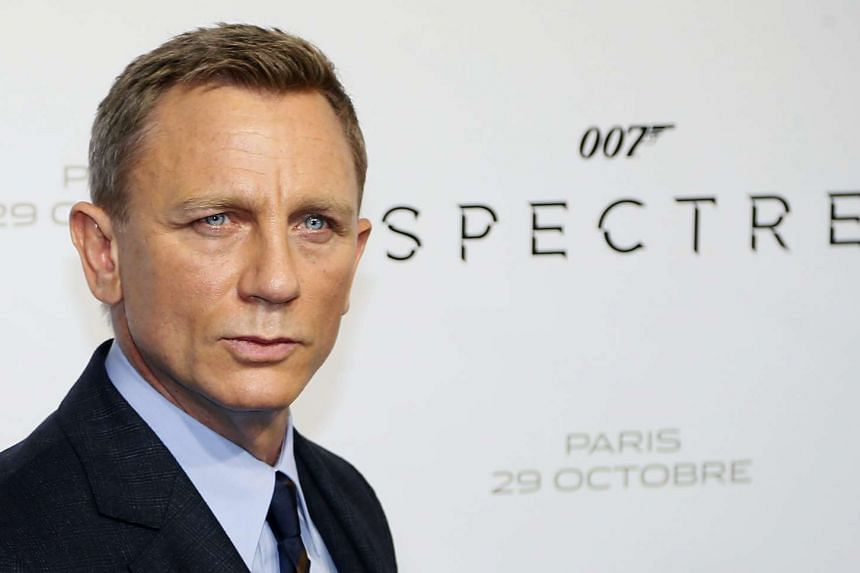 British actor and cast member Daniel Craig poses during the photocall of 'Spectre' at the Grand Rex cinema in Paris, France, on Oct 29, 2015.