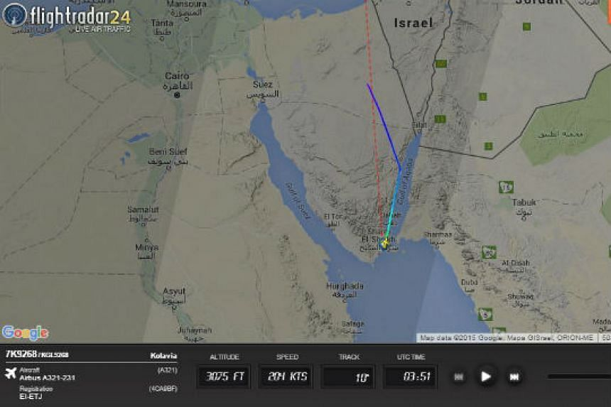 Flight history for flight KGL-9268.