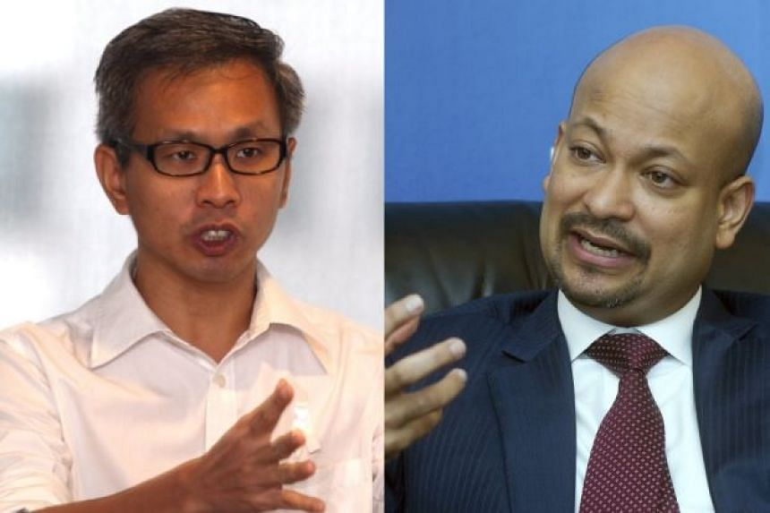 1MDB president Arul Kanda Kandasamy (right) has now unconditionally accepted a challenge from Democratic Action Party MP Tony Pua (left) for a 'live' public debate.