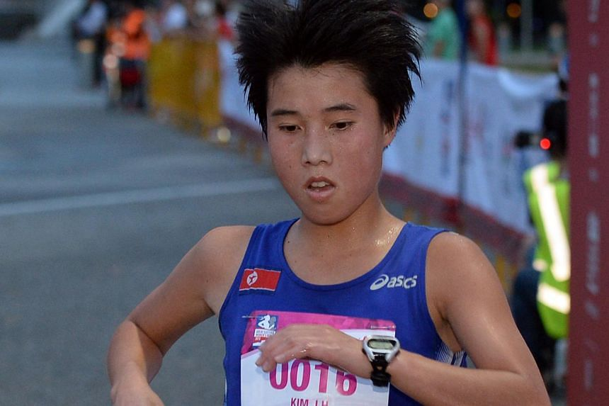 The winner of the 21.1km run was Kim Ji Hyang from North Korea. Her timing was 1 hr 12 mins and 53 seconds.