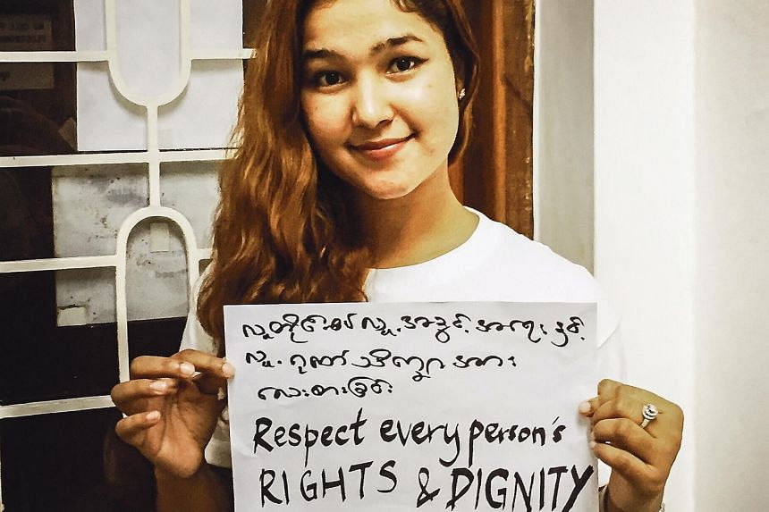 Human rights activist Wai Wai Nu, 29, hopes to reduce interracial hatred amid rising religious and racial tensions in the country.