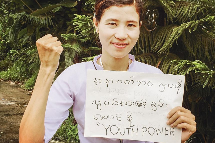 Arakan National Party member Soe Soe Htay, 31, finds herself overlooked because of her relative youth.