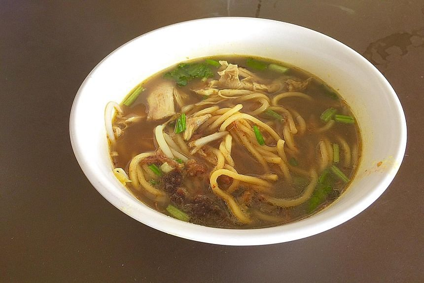 Aishah Lee's mee soto has many layers of flavours and a perfect balance of spices.