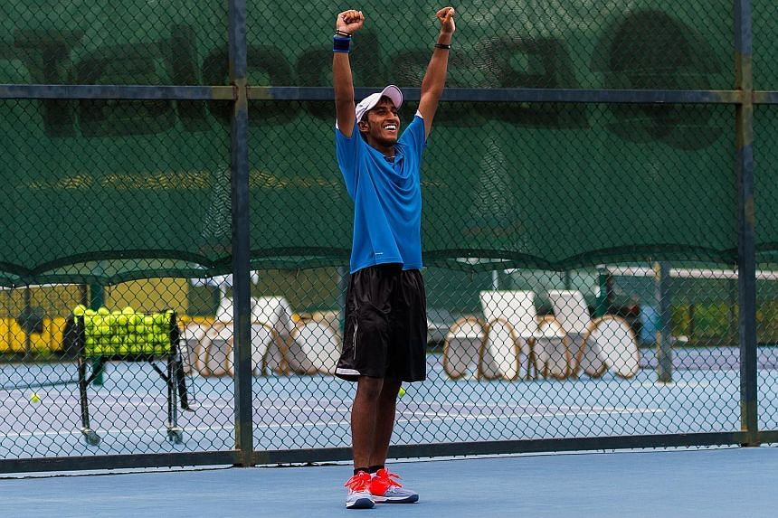 Shaheed Alam hopes to make the cut for the Australian Open Junior Championships in January next year.