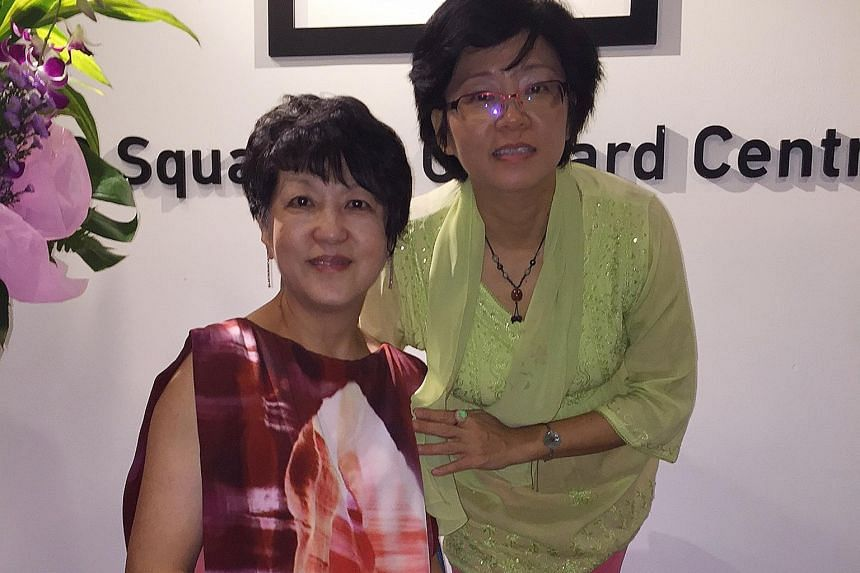 Ms Yeo (left) and Dr Yap compiled the stories to help the pioneer generation recognise their contributions to the nation.