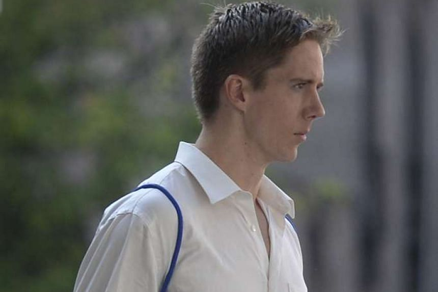 Ian Damery Fitzgerald was sentenced to four weeks' jail and fined $800.