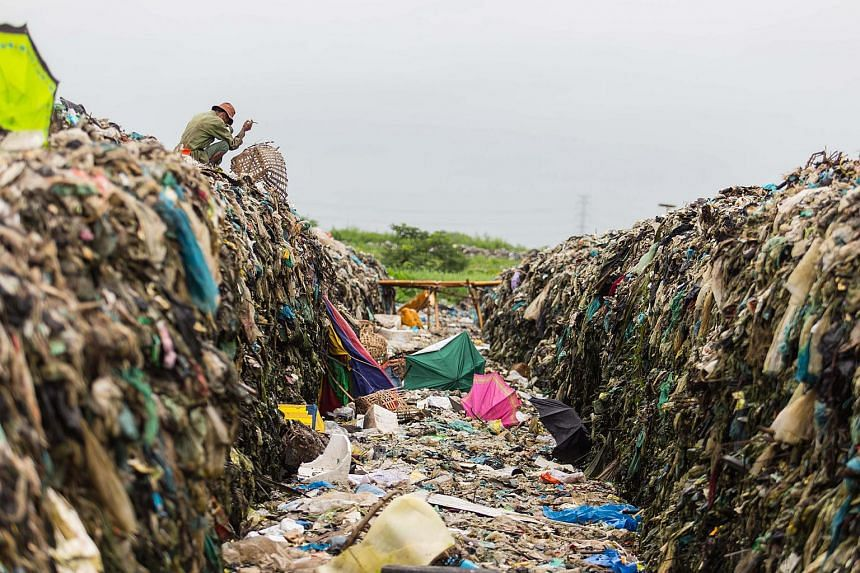 The landfills in Yangon city also provide a living for some ordinary citizens.