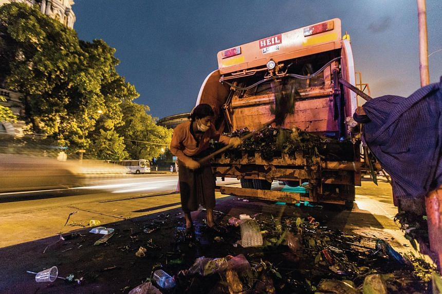 No time to waste: Dealing with Yangon's trash problem, SE