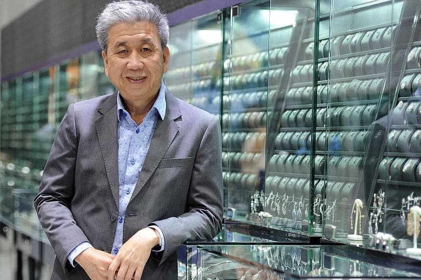 Mr Michael Teo, managing director of TLV Holdings, the parent company of Taka Jewellery and Lovis Diamonds, will always remember his youngest customer, a nine-year-old girl who bought a $9 pearl pendant which included a small piece of diamond for her