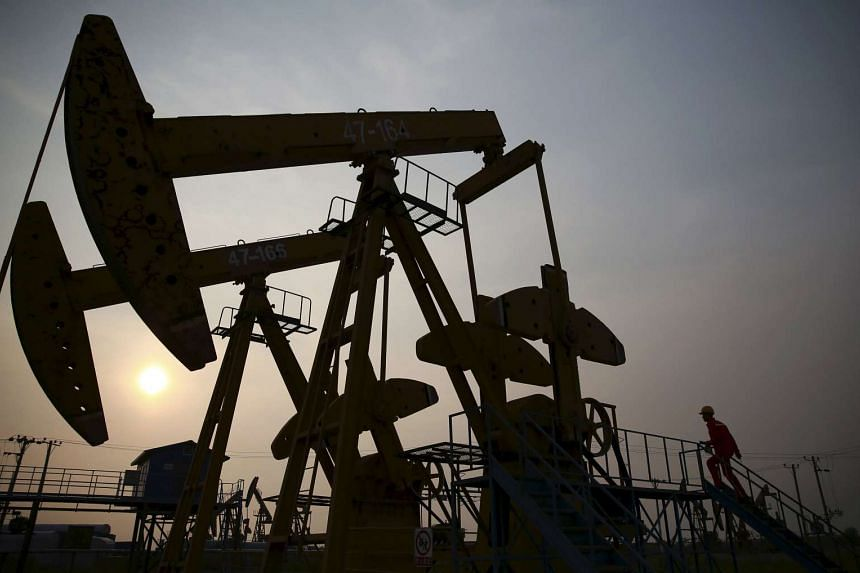 Crude prices fell for the first time in four days.