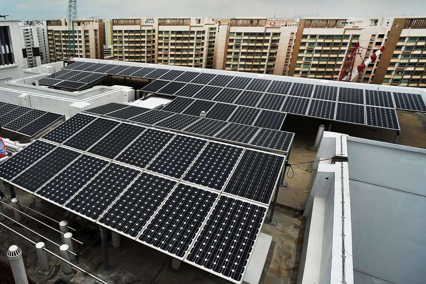 Singapore's options for clean and green energy could include electricity from solar panels installed on rooftops and wind turbines. The lack of physical space is one inhibiting factor but new technologies could eventually make the renewable energy