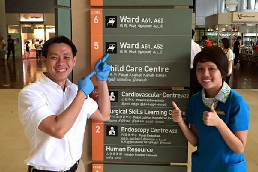 Nee Soon MP Louis Ng will work as a healthcare worker in Khoo Teck Puat Hospital this month.