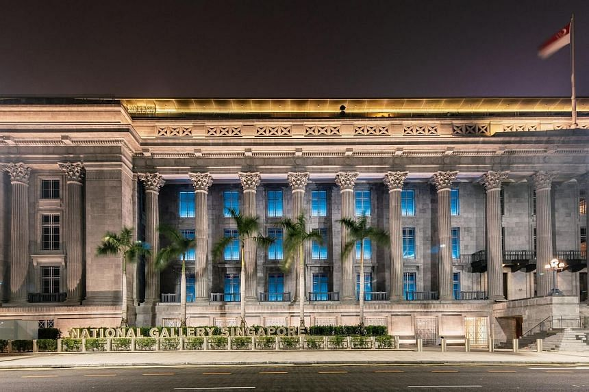 ST readers stand to win a visit to the National Gallery Singapore before it opens and enjoy a cocktail and three-course dinner.