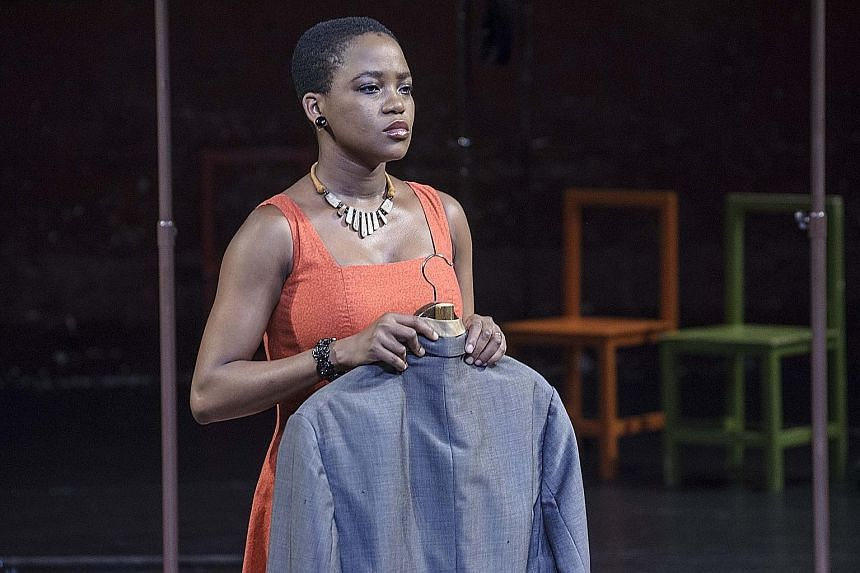 Nonhlanhla Kheswa plays the unfaithful wife in Peter Brook's The Suit, staged by the Esplanade and Singapore Repertory Theatre two years ago.