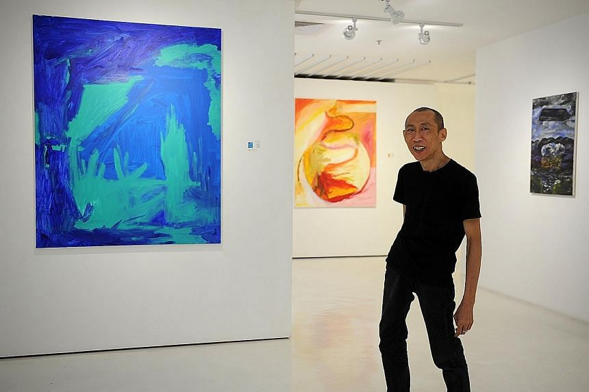 Sixty-five artworks of Lee Wen (above) will be on display at Songs Unsung.