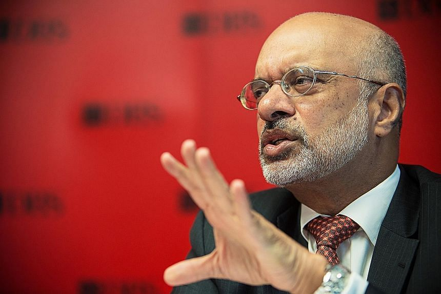 "DBS chief executive Piyush Gupta said that ""our core business should be able to deliver a 7 to 8 per cent top-line growth. We're comfortable about being able to negotiate through the next year or two""."