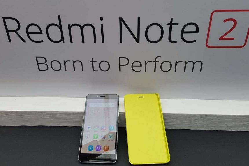 Chinese smartphone maker Xiaomi is launching the Redmi Note 2 in Singapore on Nov 11, 2015 for $229.