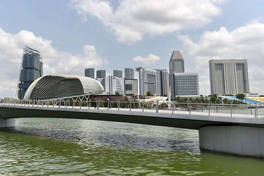 The sky has cleared from the haze that has shrouded Singapore in recent weeks, as seen in this photo from Oct 29, 2015.