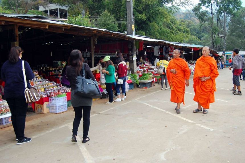 Hmong Market in Chiang Mai.