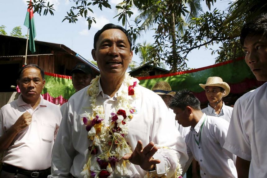 Myanmar's ruling Union Solidarity and Development Party (USDP) said on Wednesday (Nov 4) it had not expelled ousted parliamentary speaker Shwe Mann.
