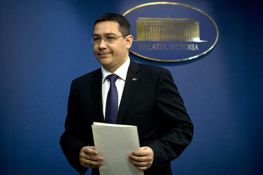 Romanian Prime Minister Victor Ponta announced his resignation on Nov 4, 2015.