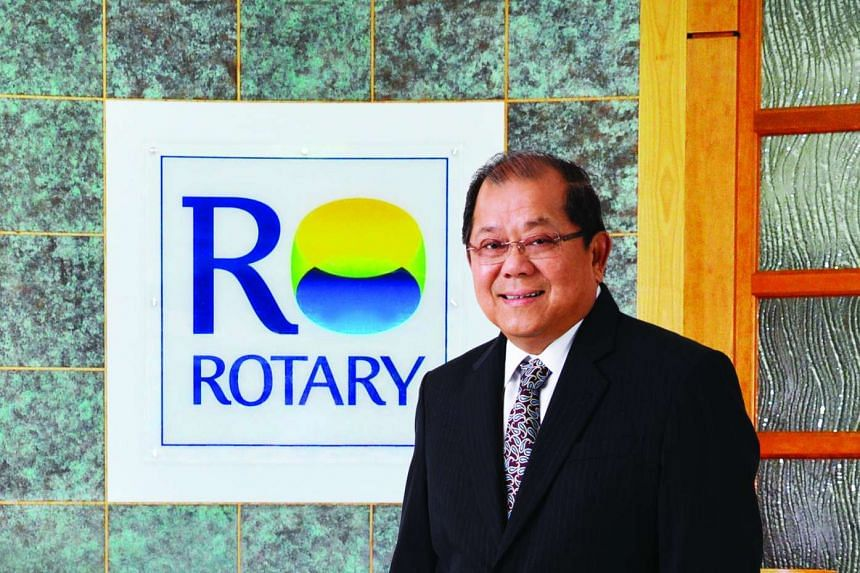 Mr Roger Chia, Chairman and Managing Director of Rotary Engineering Limited.