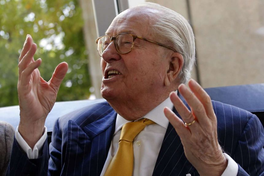 French police raided the home and offices of Jean-Marie Le Pen over alleged tax evasion.