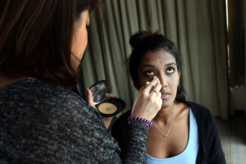 Several former drug addicts are beginning a new chapter in their lives as make-up artists after completing a month-long beautician course.