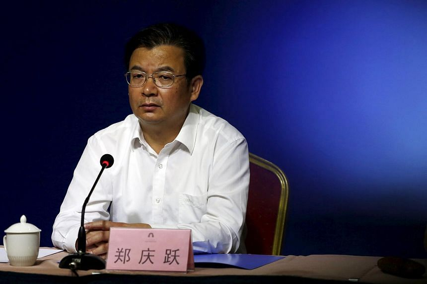China sacks Tianjin port chief Zheng Qinyue three months after the chemical blasts that killed more than 160 people.