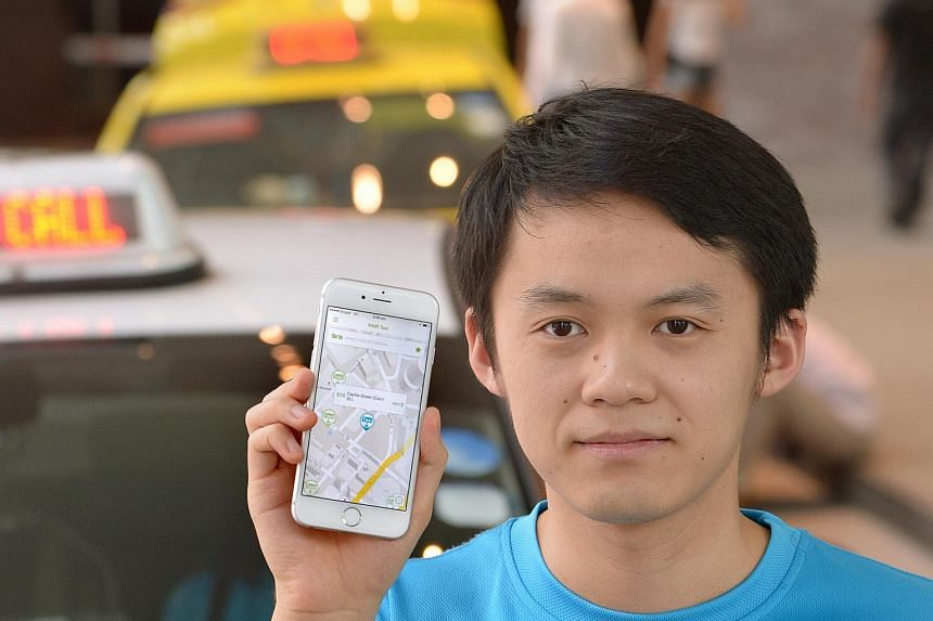 Pair Taxi founder Andy Zheng says the app is different as it is focused on increasing efficiency, instead of supply.
