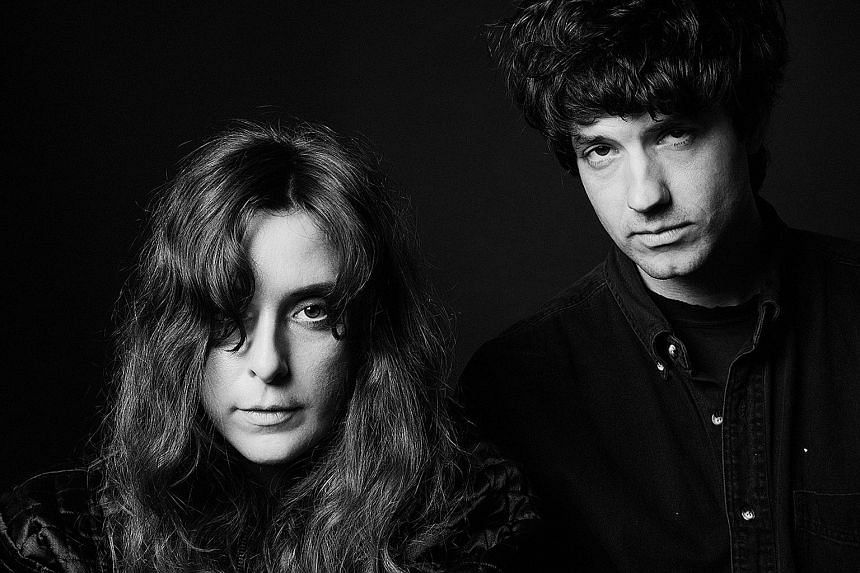 Victoria Legrand and Alex Scally (both above) make up the dream pop duo of Beach House.