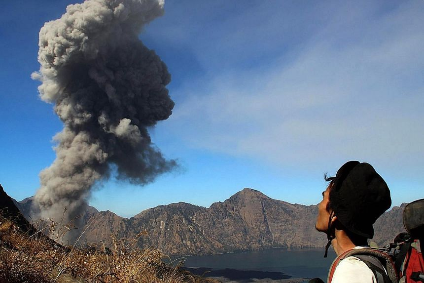 Flights to and from Bali, including several involving Singapore, were cancelled yesterday due to a new volcanic ash cloud from Mount Rinjani in Lombok, Indonesia's second-highest volcano that is active. The ash forced the Indonesian authorities to is