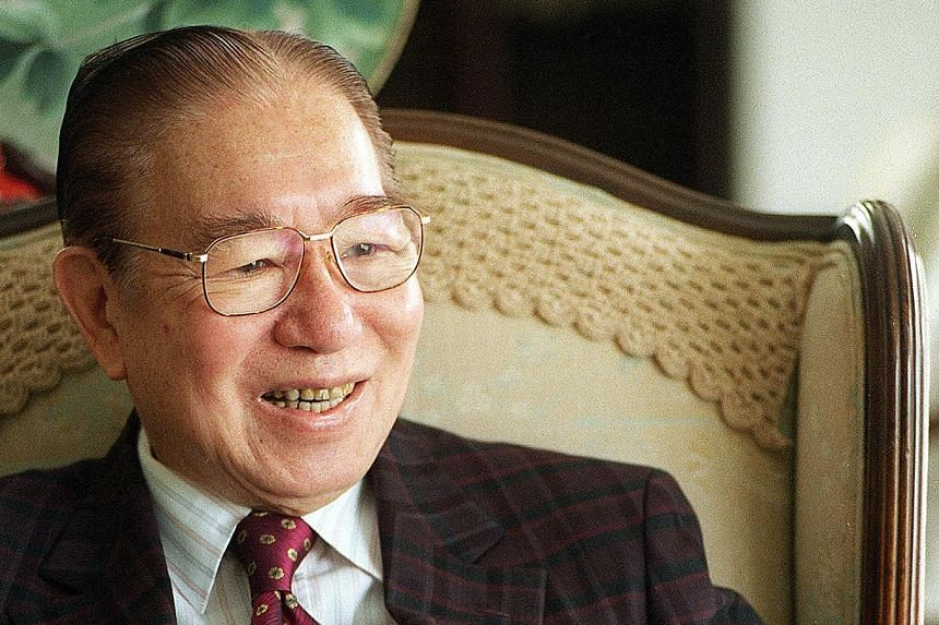 Mr Tan Keong Choon was chairman of The Chinese High School and also served as president of the Singapore Chinese Chamber of Commerce and Industry.