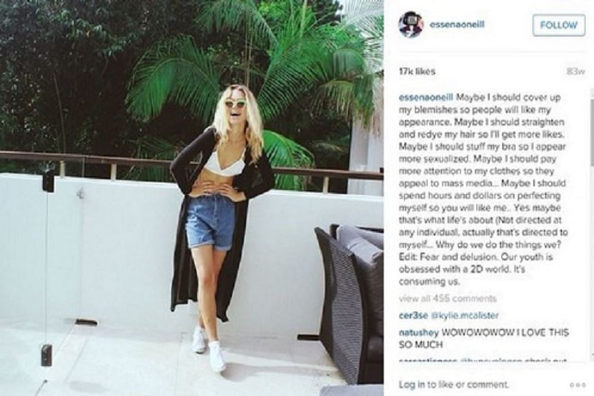 Essena O'Neill has declared that she is giving up her social media career.