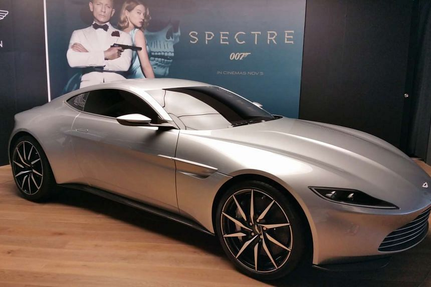 The Aston Martin DB10.