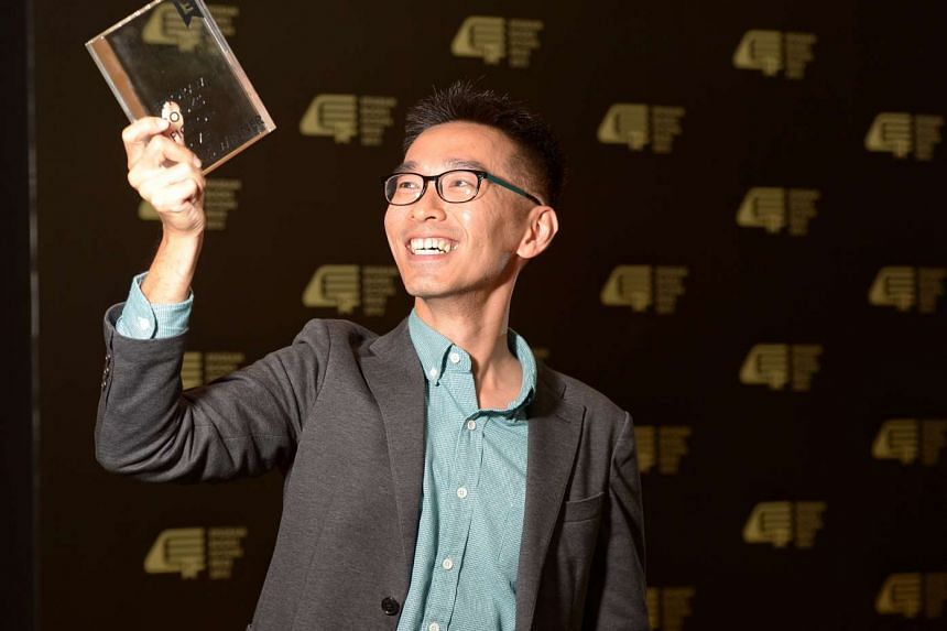 Author O Thiam Chin won the inaugural Epigram Books Fiction Prize for his novel The Infinite Sea.