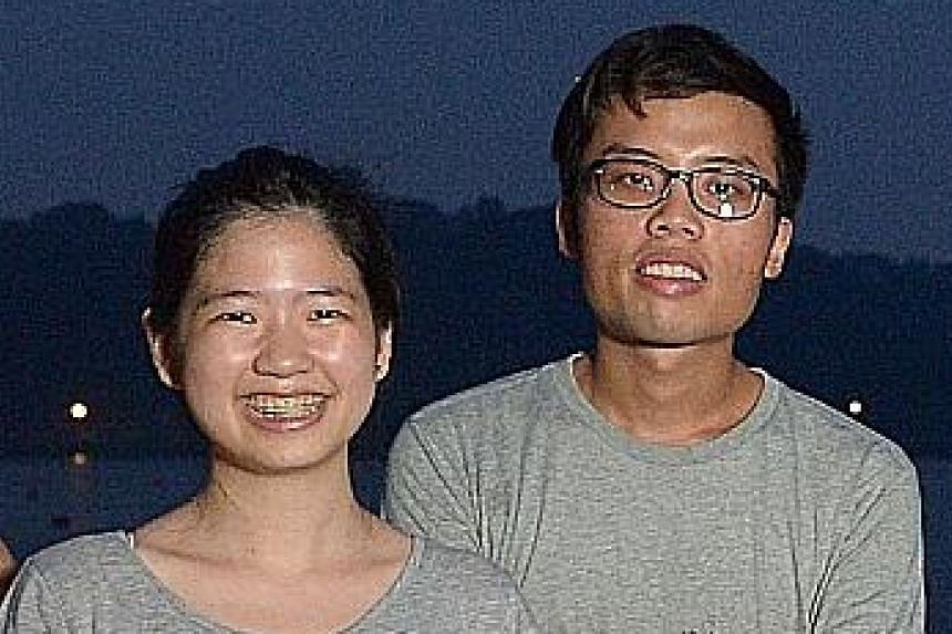 Ms Pamelia Chia and Mr Wex Woo, both 24, organise dinners for strangers to get to know one another and discuss social issues.