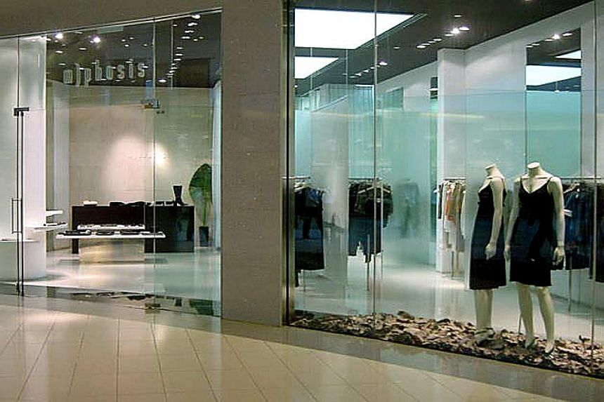 The former M)phosis store at CityLink Mall. At its peak, the brand had more than 30 outlets, with stores in Dubai, Japan, Thailand, Vietnam, Australia, Hong Kong and the Philippines.